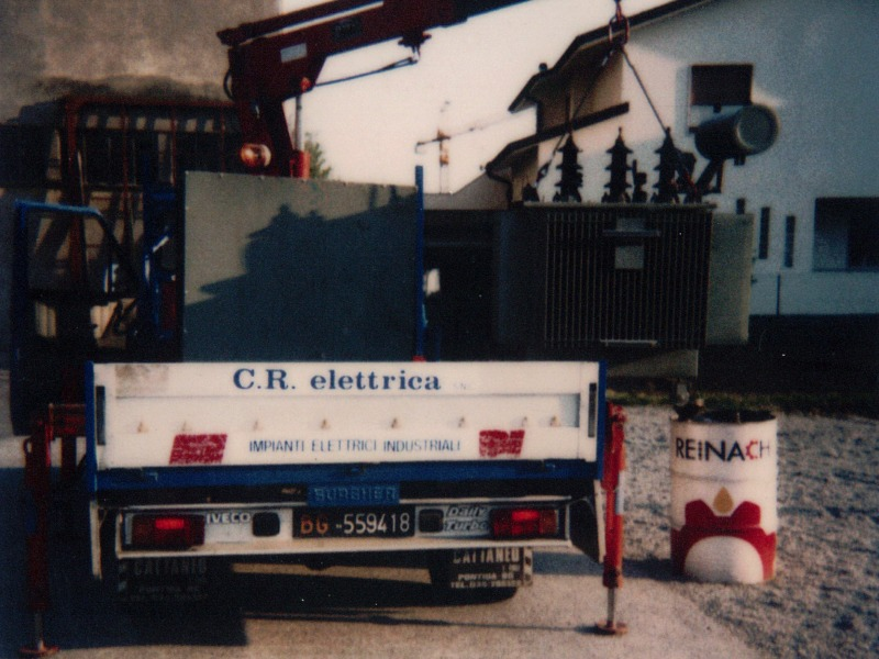 CR Elettrica - Bergamo - Impianti elettrici industriali
